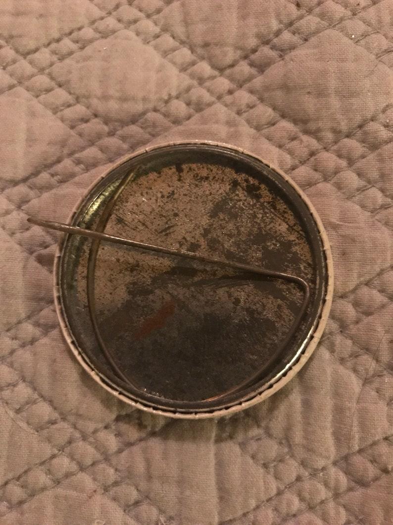 Political Pin. 1975 Governor Carrol Pinback Governor Pin Vintage Pinback Button Governor Carrol Inauguration