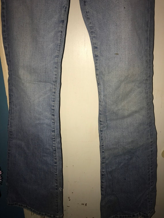 Vintage Distressed Guess Jeans. Low Rise Guess Je… - image 5