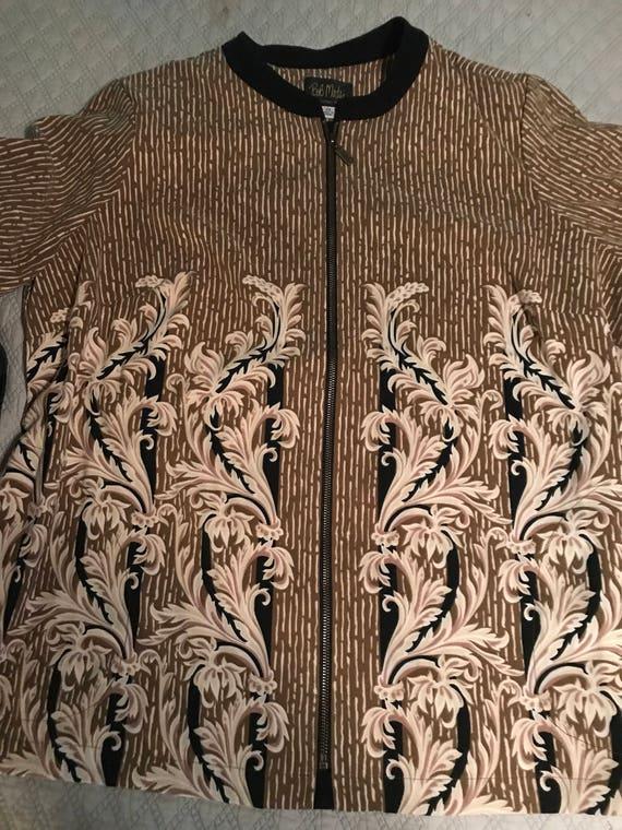 Vintage Bob Mackie Blouse. Bob Mackie Shirt Bob Ma