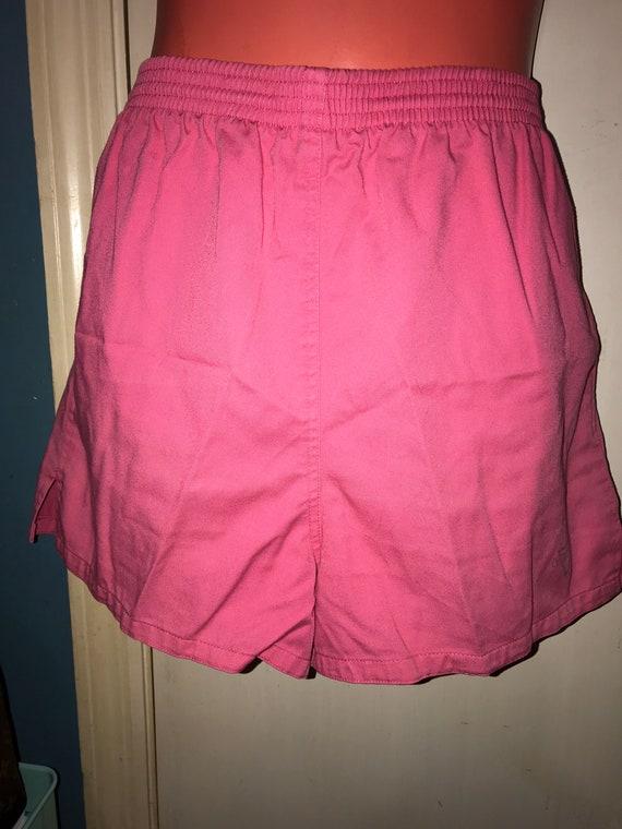 Vintage 80's Pink Shorts. Venezia 80s Shorts. Pink