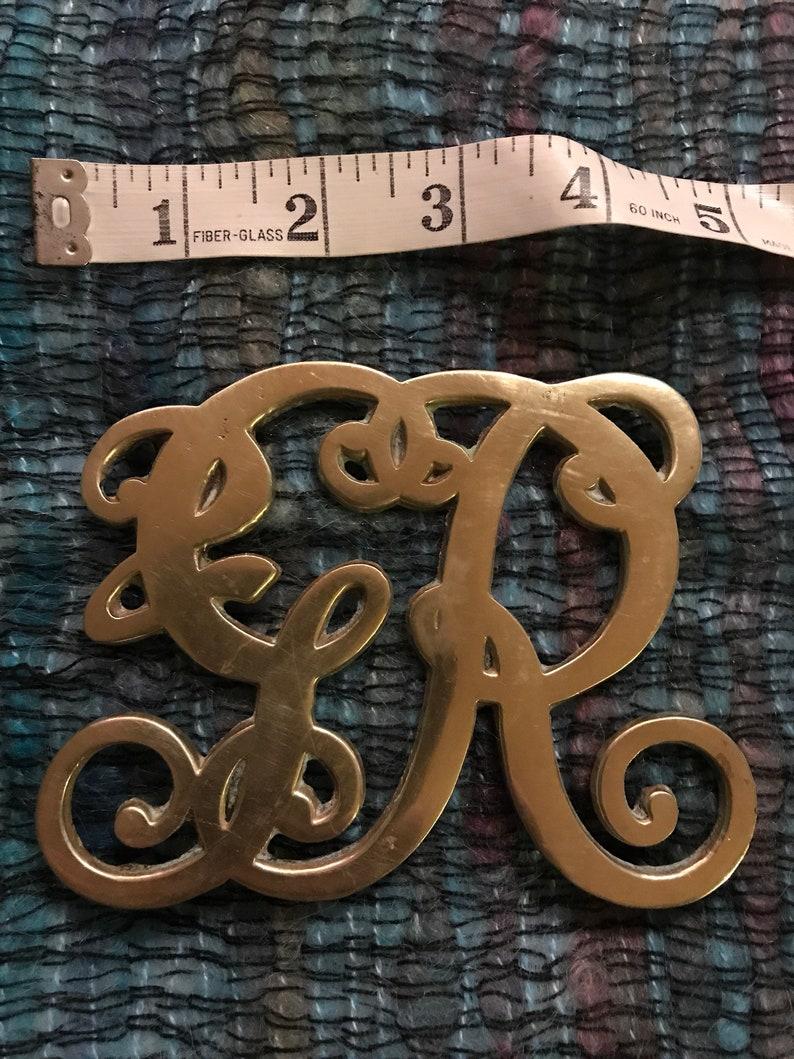 Virginia Metalworks Brass Trivet Vintage Brass Hot Plate Vintage Brass King George 1947 Hot Plate Virginia Metalworks Hot Plate.