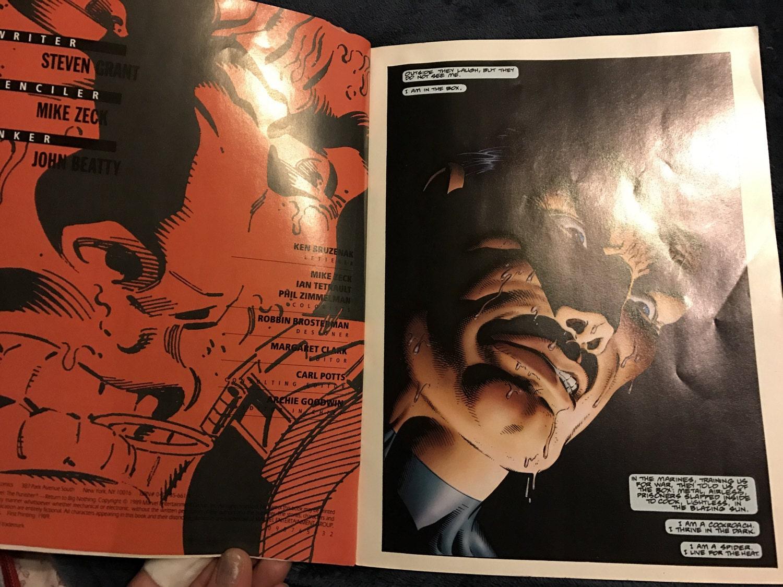 The Punisher Return To Big Nothing  Vintage Marvel Comics