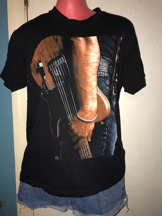 Vintage Bruce Springsteen Concert Tshirt. Springst
