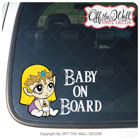 The legend of zelda navi vinyl decal car phone wall tablet