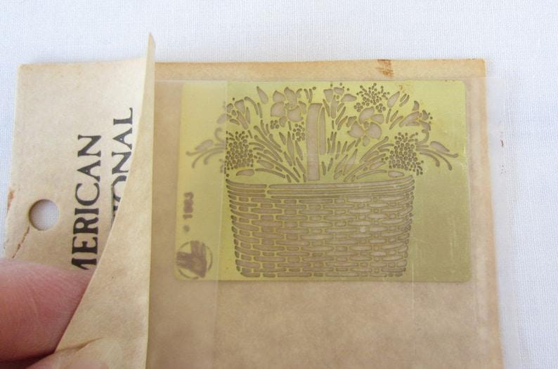 Quilt Plate Stencils Alphabet Tin Stencil Longaberger Basket Tin Stencil Die Cut Embossing Stencils for Card Making Vintage Tin Stencils