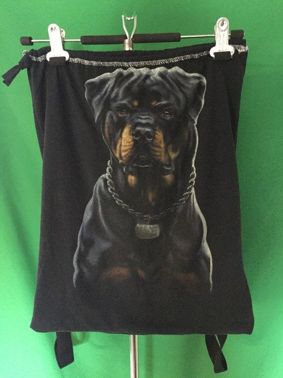 t shirt Bag Pak Power Ranger, Flash, Rottweiler, Music, Rock and Roll, Punk, Metal
