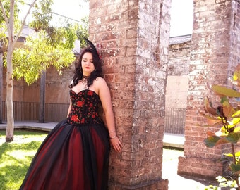 Gothic/Alternative Ball Gown Skirt