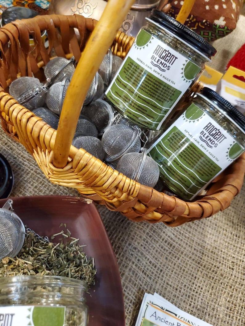 Ancient Blends Healthy Herbal Hair Tea DRINK image 0