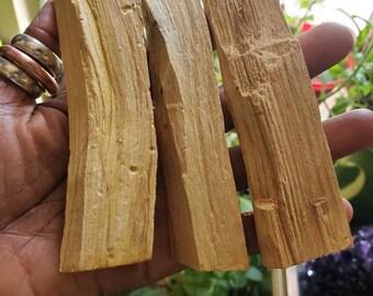 NEW: Thick Palo Santo Sticks (1 / One )
