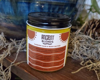 Passion Hair. Body and Beard Butter (4ozs)