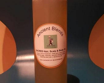 Ancient Blends 'Sacred' Hair and Scalp Oil...16ozs (large)