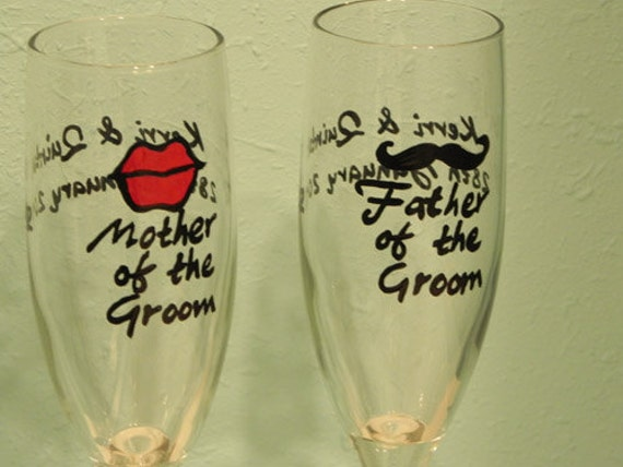 Mother and Father of .....Champagne Flutes
