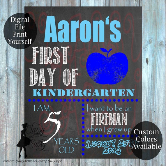First Day Of School Chalkboard Sign 151