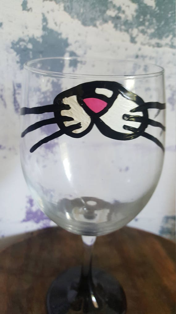 Cat Lover wineglass