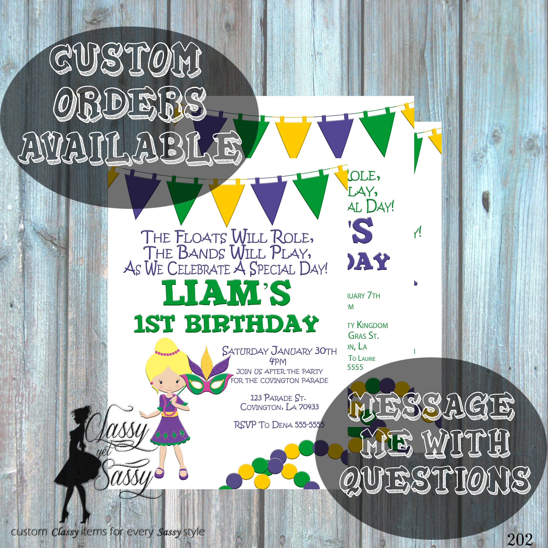 accept birthday party invitation