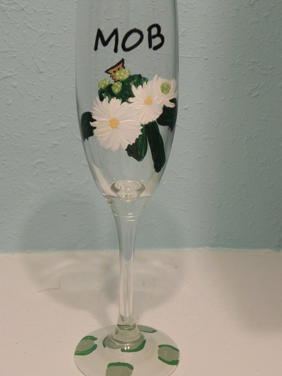 Mother of the Bride Champagn Glass