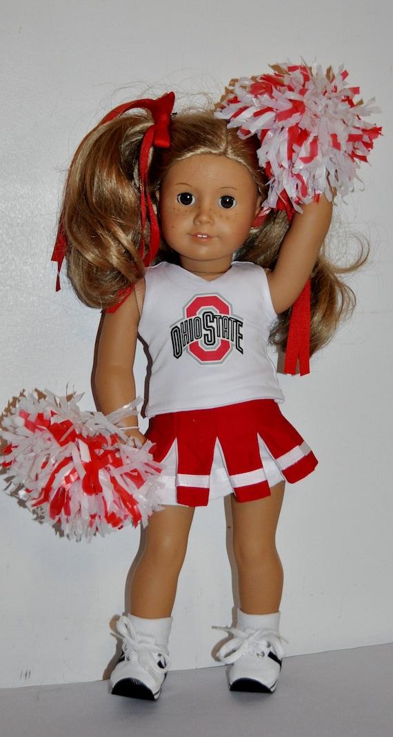 american girl cheerleader