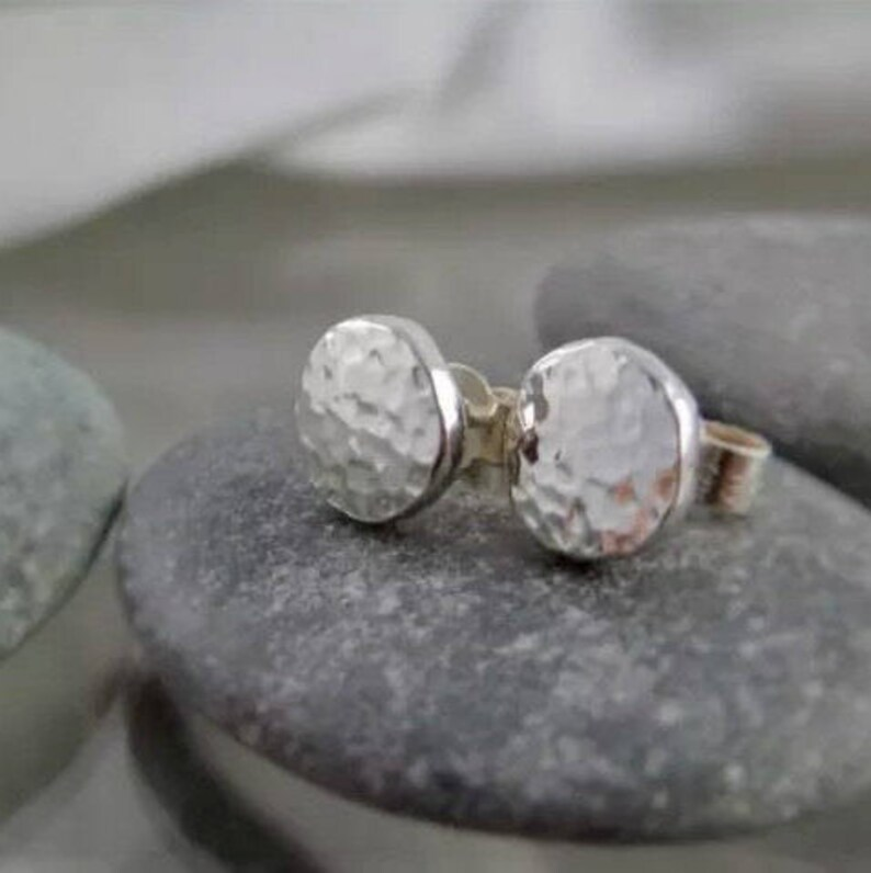 Sterling Silver 925 High Shine ROUND BALL Earrings 2.7Grams 10MM