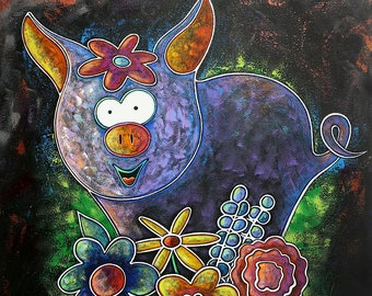 Bloomin' Piggy