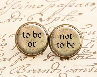 Shakespeare - Stud Earrings