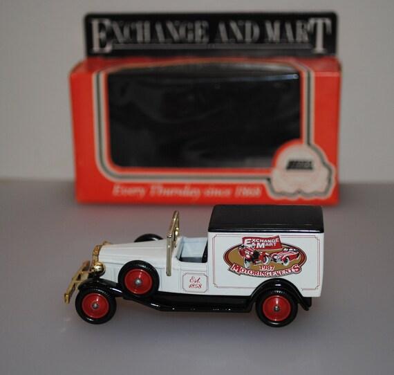 Échange & Mart - 1987 automobile événements - camionnette de livraison - Lledo