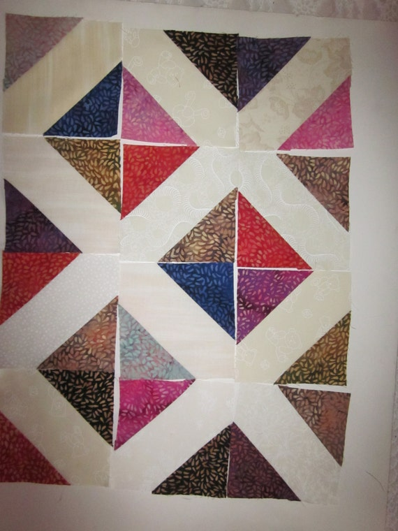 80 Signature Friendship Blocks In Batik Seed Pattern Etsy