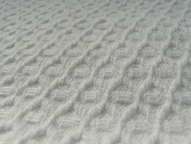 White organic linen cotton  fabric--Natural--Linen Bath