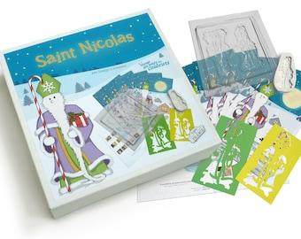 """Saint Nicholas box """"Voyage au pays des couleurs"""""""