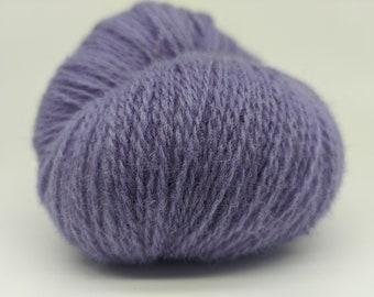 KAUNI  Wool Yarn, Worsted Weight 8/2  2ply, 100% wool, Lilac