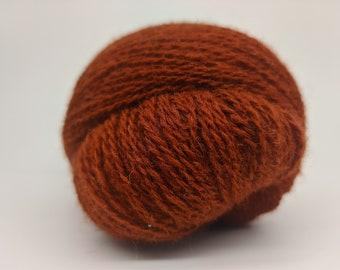 KAUNI  Wool Yarn, Worsted Weight 8/2  2ply, 100% wool