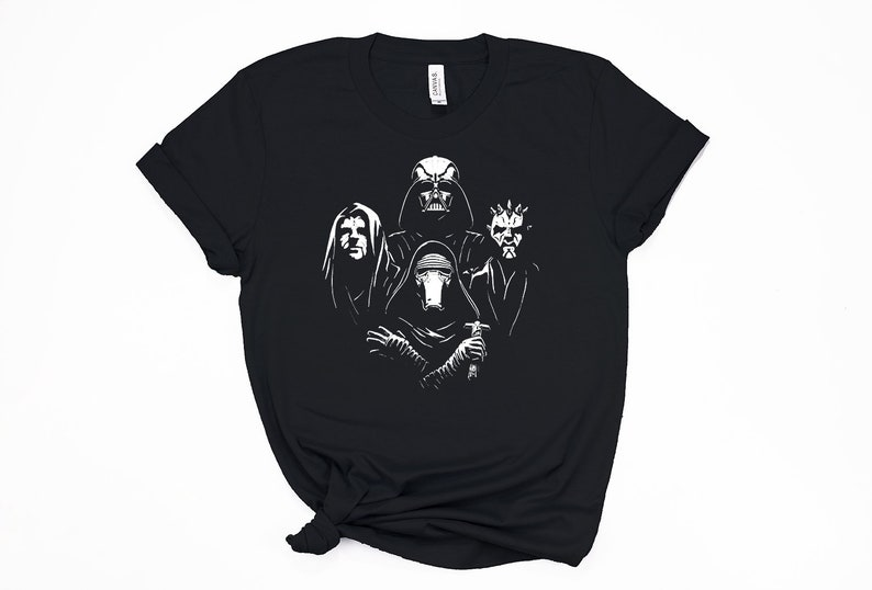 4ec41a1f91 Dark Side Star Wars Bohemian Rhapsody Disney t-shirt   Funny