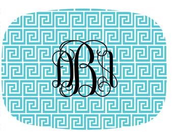 Monogram Platter, Custom Dinner Plate, Dinnerware, Personalized Serving Tray, Wedding Gift, Hostess Gift