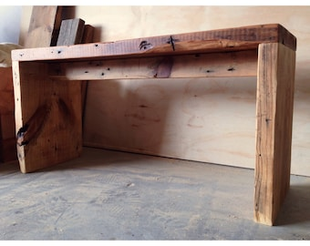 The Rugged - Reclaimed Pine Bench