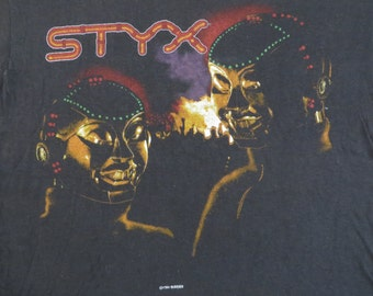STYX 1983 tour T SHIRT