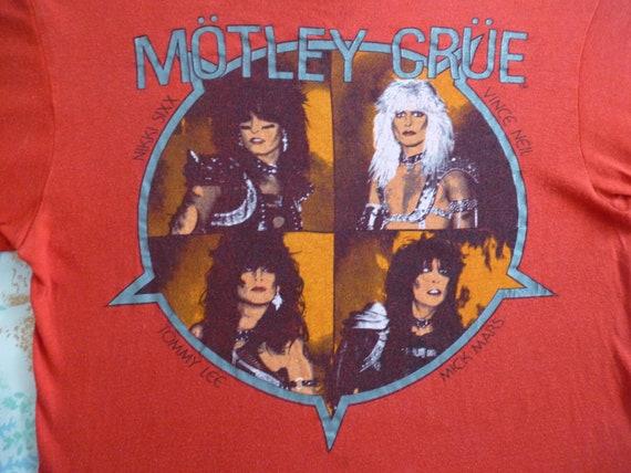 Original MOTLEY CRUE vintage 1983 tour tshirt