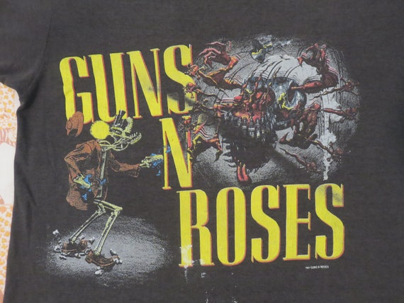 Guns N Roses 1987 Tour T Shirt Original Vintage Concert Tee Y Etsy