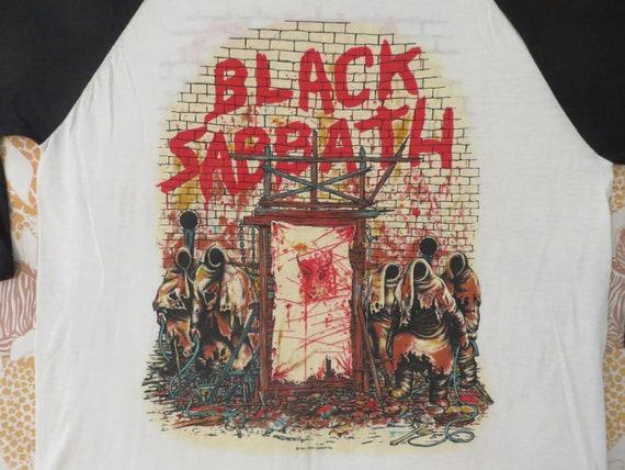 Vintage BLACK SABBATH Dio 1981 tour T SHIRT
