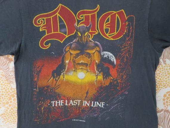 Vintage DIO Black Sabbath 1984 tour T SHIRT