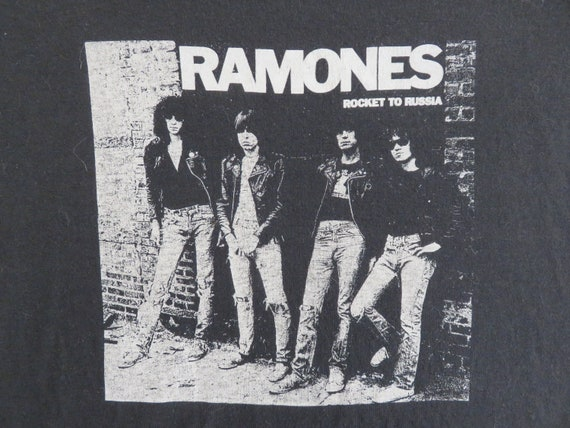Vintage 80s RAMONES T SHIRT original tee