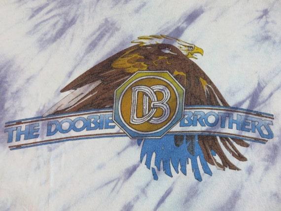 DOOBIE BROTHERS 70s tie dye T SHIRT