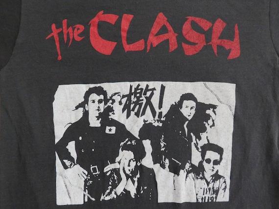 Vintage 80s THE CLASH T SHIRT original tee