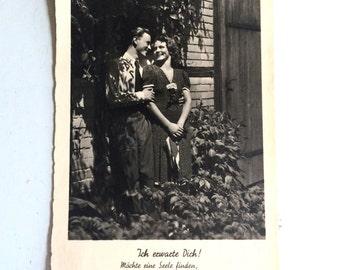 German Love Postcard 1930s
