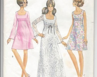 25dc4327e7d Style 2472 Misses  Dress in Two Lengths sewing pattern