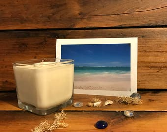 Suntan Lotion Scented Candle | Summer Candle | Soy Candle | Beach Candle | Banana Scented Candle | Elegant Candle | Goddess of the Sun Scent
