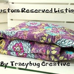 Custom Reserved for plush cotton upgrade