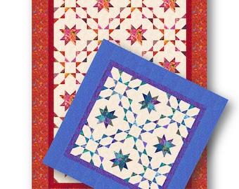 Stars Align Quilt Pattern