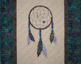 Dream Catcher Wall Hanging Quilt Pattern