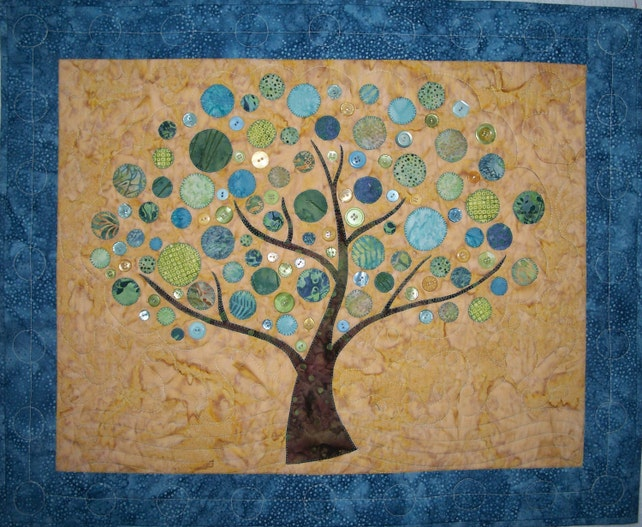 Branching Out Wall Hanging Quilt Pattern Etsy