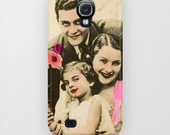 Collage Phone Case, iPhone, Galaxy, Pixel, Evil Family Phone, Satanic, Vintage Photo Collage, Evil Family Cell Phone Case, Galaxy 6 Case