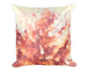 Autumn Pillow Case, Autumn Pillow Cover, Orange Fall Pillow Cover 18x18, Fall Pillowcase, Fall Pillow 18x18, Autumn Leaves Pillow Cover